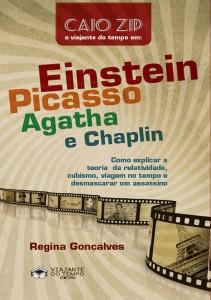 Einstein Picasso Agatha e Chaplin_capa frontal